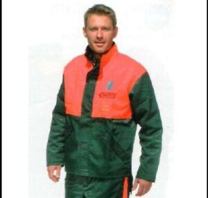 BRAND NEW! Genuine Oregon 108529 Chainsaw Jacket - 108529S XL