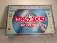 Vintage Parker Brothers Monopoly The .com Edition 2000 Complete Box Damage