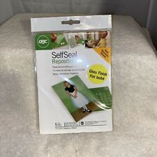 GBC SelfSeal Photo- Size Laminating Pouches 5 Pack