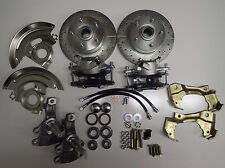1968 1972 chevelle front disc brake conversion 2 inch drop spindles gto