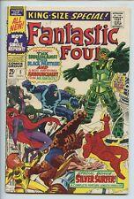 1967 MARVEL FANTASTIC FOUR ANNUAL #5 1ST APP. PSYCHO-MAN, INHUMANS APP. V 8.0 S3