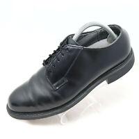 Bates Uniform Mens Sz 9D Oxford Shoes Black Work 00968K Vibram Military Police