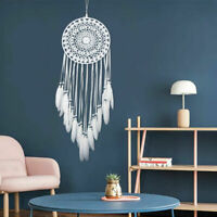 Handmade Large Dream Catcher Native American Car/Home Decoration With Feathers