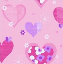 Arthouse Feliz Corazones Rosa flores coloridas de los niños niñas 533701