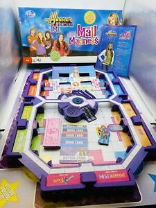 2008 Hannah Montana MALL MADNESS Electronic Talking Board Game - Works Complete