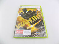 Mint Disc Xbox 360 Wanted Weapons Of Fate - Free Postage