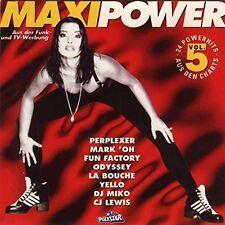 Maxi Power 5 (1994) Perplexer, Mark 'Oh, Fun Factory, Odyssey, Yello.. [2 CD]
