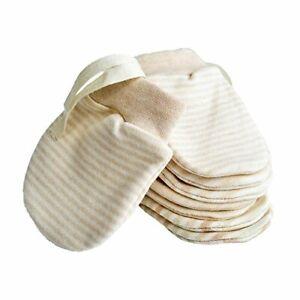Newborn Mitten No Scratch Baby Mittens Organic Cotton Mitts Gloves for
