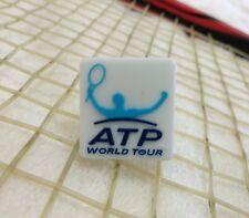 kiTki white ATP world tour tennis racquet vibration dampener shock absorber