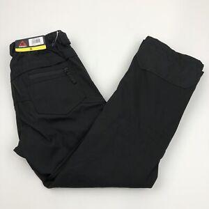 Gerry Mens Ski Snow-Tech Snowboard Pants Fleece Lined Small Black