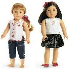 🍒American Girl Cherry Play + Sequined Skirt Outfits for 18 inch doll Retired💕