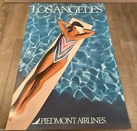 """Piedmont Airlines Los Angeles Poster 24"""" x 36"""""""