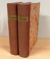 DIE NEUE RUNDSCHAU, Band 1 und 2, Fischer Verlag Berlin 1927