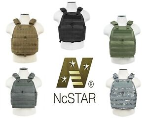 NcSTAR Heavy Duty Executive Tactical Plate Carrier MOLLE M-2XL Adjustable