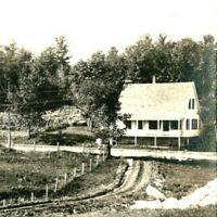 c.1910-1920's RPPC Photo Farm & Pasture Old Manor Homes a50