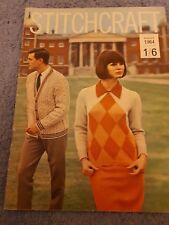 Original Vintage Stitchcraft Magazine August 1964