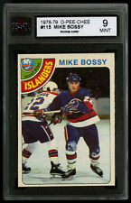 1978-79 O-PEE-CHEE ~ #115 ~ MIKE BOSSY ~ HALL OF FAME ROOKIE CARD ~ KSA 9 MINT