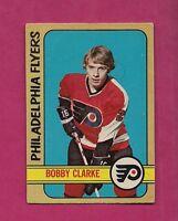 1972-73 OPC # 14 FLYERS BOBBY CLARKE GOOD  CARD (INV#1065)
