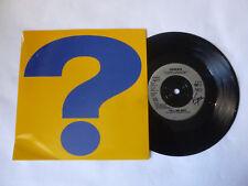 """GENESIS ~ TELL ME WHY ~ GENS 11 ~ 1993 UK 7"""" ROCK VINYL SINGLE ~ PHIL COLLINS"""