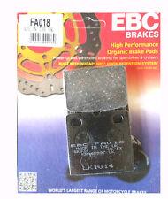 Ebc fa018 Trasero Pastillas De Freno Para Bmw K K75 de lija K100 & K1000 todos Trasera Freno De Disco Modelos