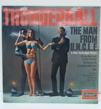 THUNDERBALL ALLEGRO RECORDS 1966 THE MAN FROM UNCLE SPY THEME LP VINYL RECORD