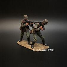 WAR PARK MINIATURES 1:30 WW2 GERMAN KU046 DAS REICH MG42 MACHINE GUN TEAM