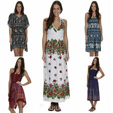 Rayon Unbranded Boho, Hippie Dresses for Women