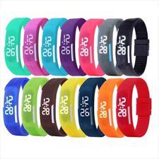 Multifunction LED Sport Electronic Digital Wrist Watch For Child Boy Girl Kid ME