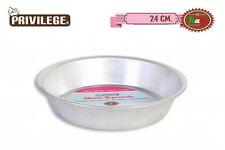 24cm Aluminium Baking Cake mould Tin Round Oven Tray Bakeware privilege