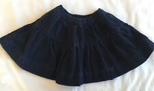 Ralph Lauren Polo Twirl Skirt Girls Size 2 EUC Navy Corduroy