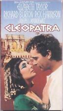 VHS: 2-VIDEO CLEOPATRA.....ELIZABETH TAYLOR-RICHARD BURTON