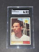 1961 Topps #21 Zorro Versalles SGC 6.5 Newly Graded & Labelled
