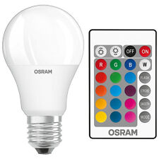 5w OSRAM LED STAR Colour changing GLS A60 lightbulb RGBW Remote Control Dimmable