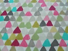 Harlequin Curtain Upholstery Fabric LULU 3.7m Azalea/Lemongrass Design 375cm