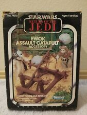Star Wars EWOK ASSAULT CATAPULT 1983 Vintage Return of the Jedi 1983