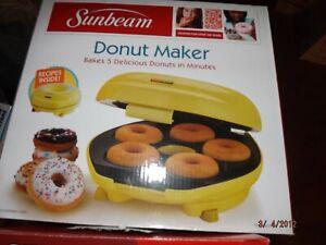SunBeam Donut Maker--New in Box