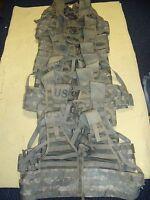 Lot of 10  ACU MOLLE II TACTICAL FLC Fighting Load Carrier Vest 8465-01-525-0577