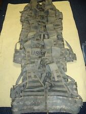 Lot of 10  ACU MOLLE II TACTICAL FLC Fighting Load Carrier Vest 8465-01-525-0577