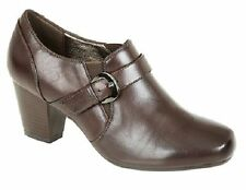 Women's Mid Heel (1.5-3 in.) 100% Leather Pull on Shoes
