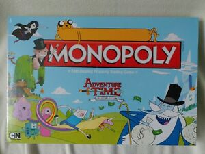 Adventure Time Monopoly Board Game New Sealed