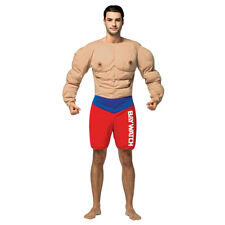 Mens Baywatch Muscle Beach Lifeguard Costume