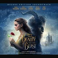 BEAUTY AND THE BEAST - ORIGINAL SOUNDTRACK (LIMITED DELUXE EDITION)  2 CD NEW