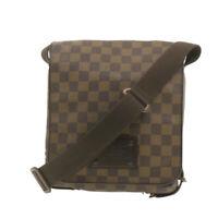LOUIS VUITTON Damier Ebene Brooklyn PM Shoulder Bag N51210 Auth **Coution yt002