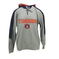 Auburn Tigers Official NCAA Adult Size Hooded Quarter Zip Sweatshirt New Tags