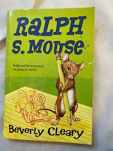 Ralph S. Mouse Ralph Mouse by Beverly Cleary softcover book