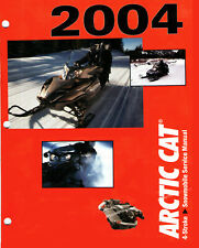 2004 Arctic Cat Snowmobile Factory Shop Service Manual - PDF DWNLD