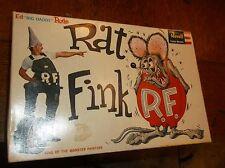 1964 Revell RATFINK Ed Roth Custom Monsters Model Kit RAT FINK weird-ohs nuttY