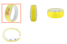 Konektopshop LED Bracelet Digital Bangle Watch - Yellow