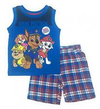 Paw Patrol Toddler Boys Character Tank Top Two-Piece Short Set Size 2T 3T 4T