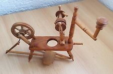 Spinnrad aus Holz ca. 24cm beweglich Dekoration